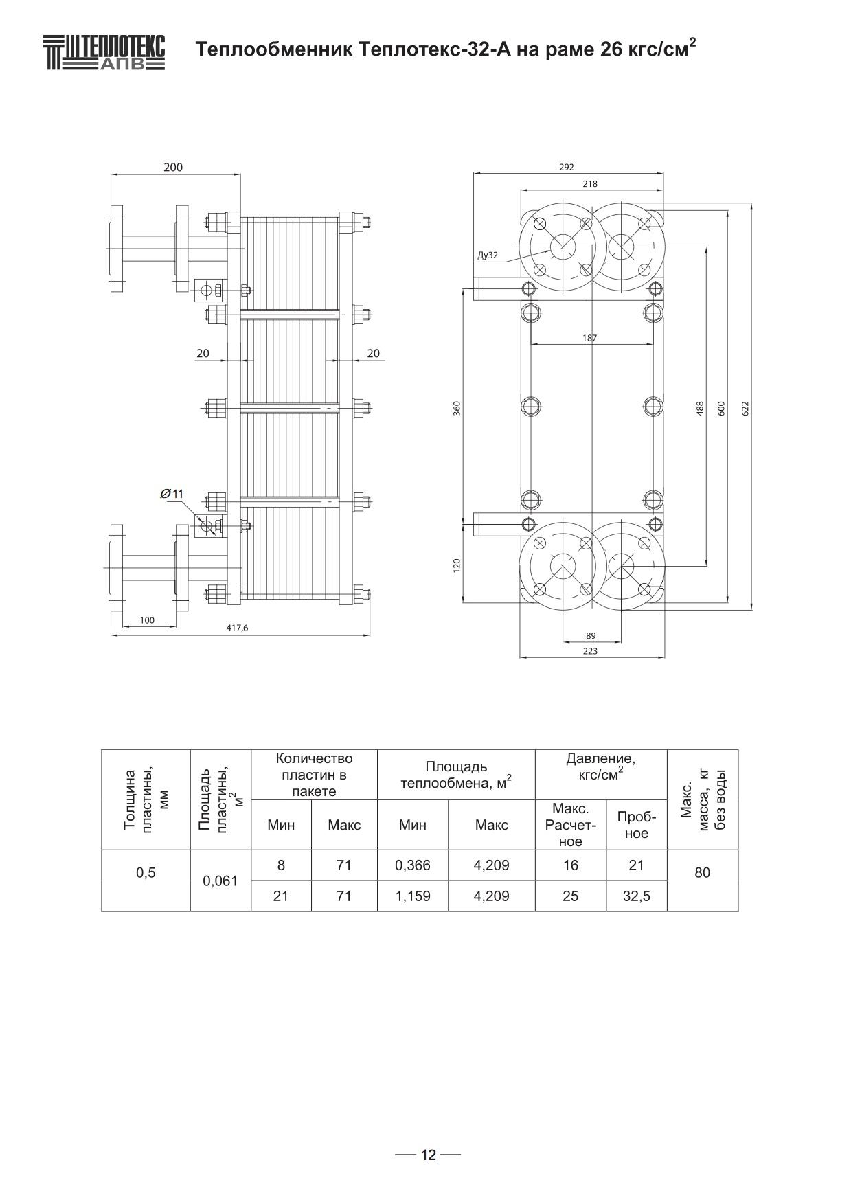 Уплотнения теплообменника Теплотекс 32A Тюмень теплообменник ридан назначение