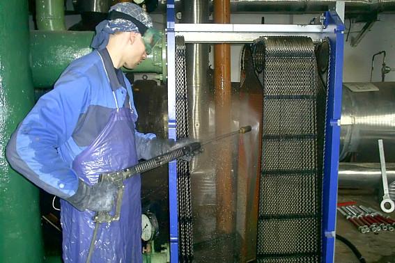 Промывка пластинчатого теплообменника своими руками