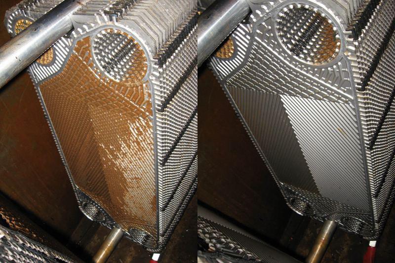 Промывка и очистка пластинчатых теплообменников теплообменник для газовой колонки беретта s081 купить