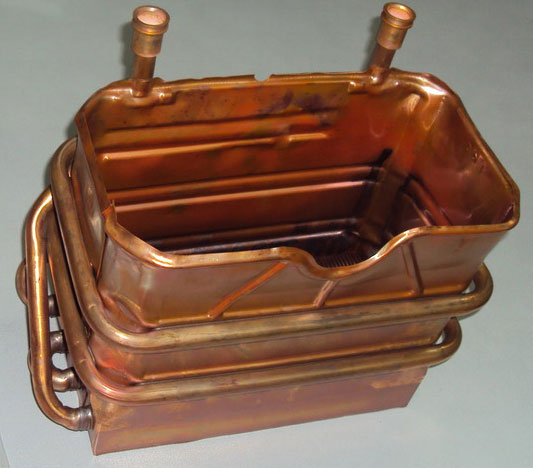 Газовая колонка теплообменника теплообменник в скания 124