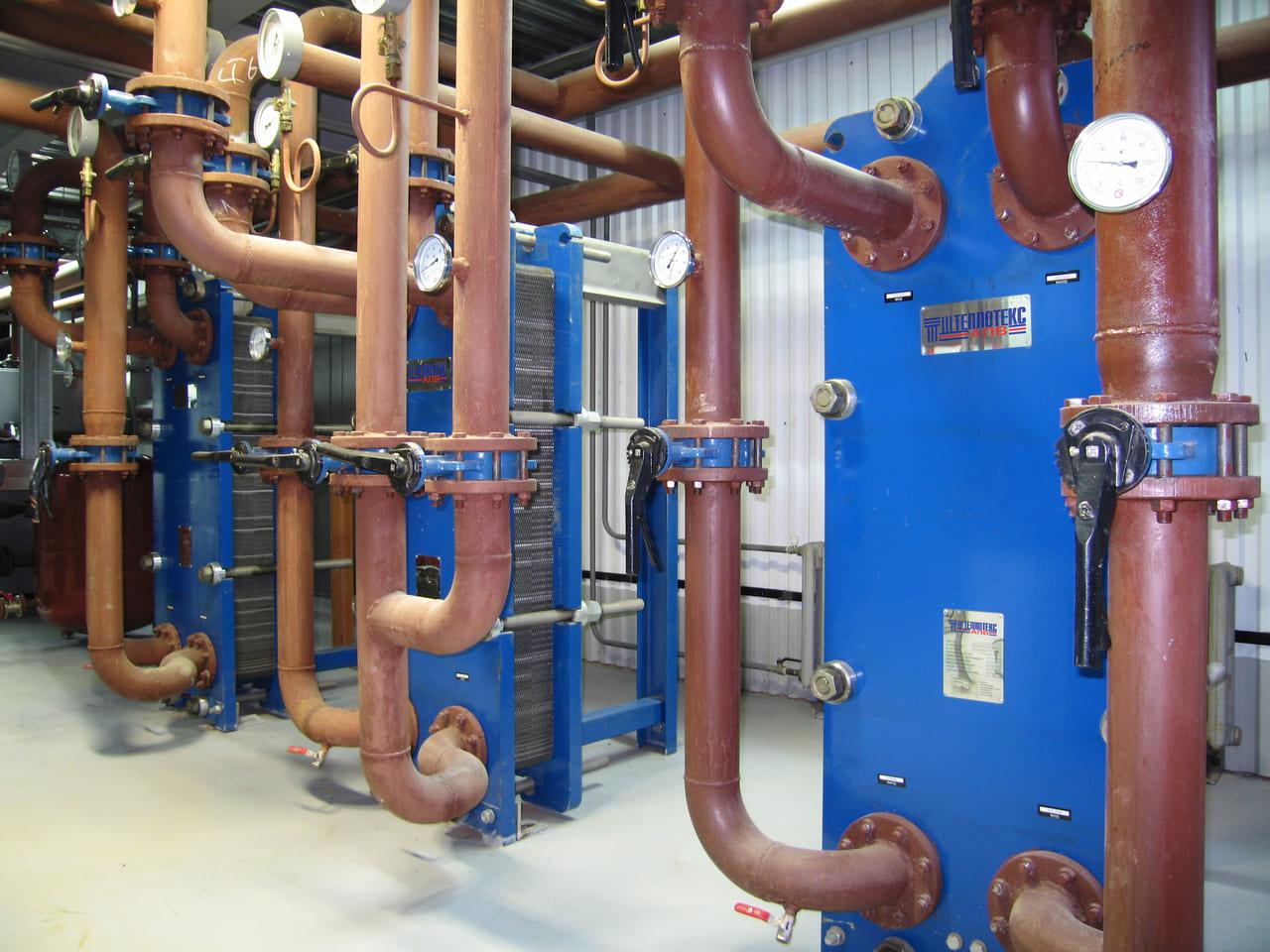 Пластинчатый теплообменник для водяного отопления Кожухотрубный испаритель ONDA SSE 61.401.3200 Набережные Челны