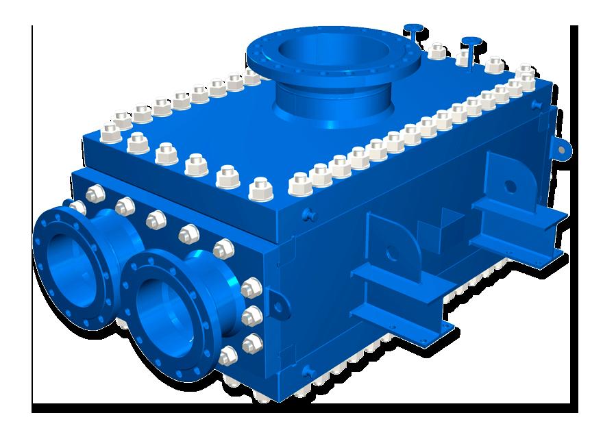 Теплообменник пластинчатый сварной Кожухотрубный конденсатор ONDA C 41.306.2400 Жуковский