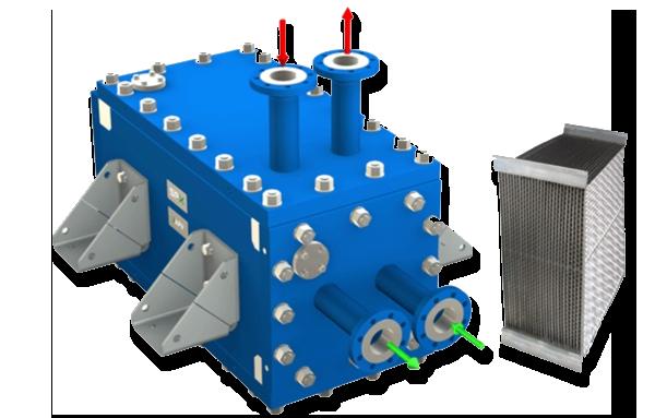 Пластинчатые теплообменники давление сколько стоит теплообменник на газовый котел вайлант